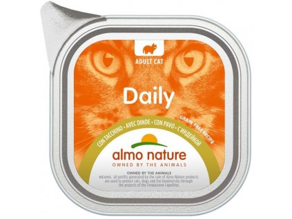 Almo Nature Daily Menu cat van. krůta 100g