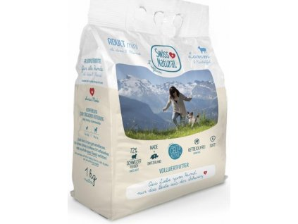 Swiss Natural Dog Adult Mini Lamb 1 kg