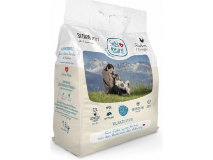 Swiss Natural Dog Senior Mini Chicken 1 kg