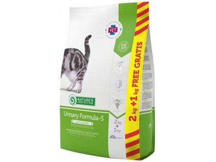 Nature's Protection Cat Dry Urinary 2+1 kg