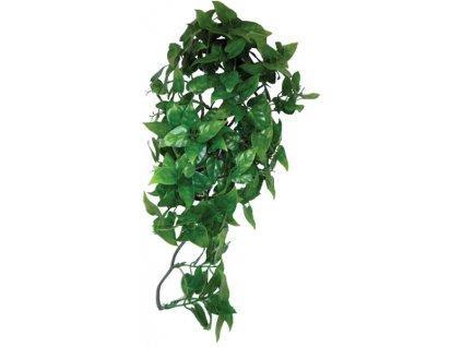 Dekorace umělá rostlina - popínavá Philodendron Komodo 40cm
