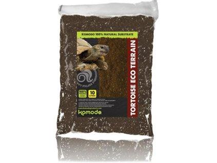Substrát pro želvy Komodo Tortoise Eco Terrain 10l
