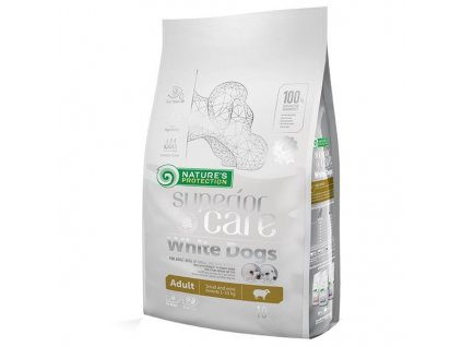Nature's Protection Dog Dry Superior Adult SB White 10 kg