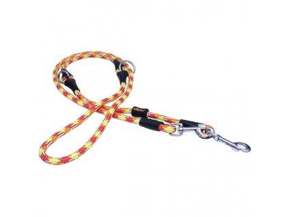Vodítko textil lano ALPINE červené 1,2x240 B&F
