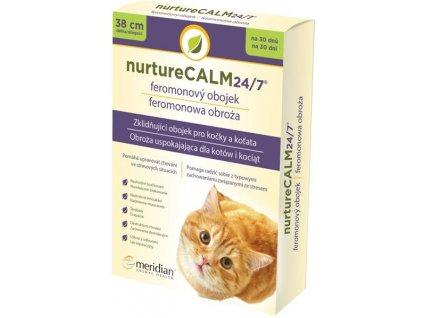 Feromonový obojek nurtureCalm pro kočky 38cm