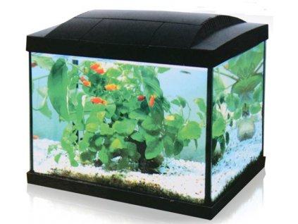 Akvárium set Hailea LED K20 černé, 20l