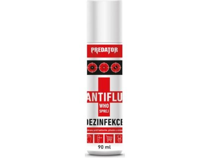 Predator Dezinfekce WHO Antiflu spray 90ml