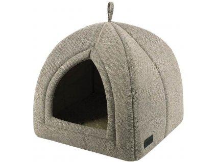 Nobby CALBU luxusní béžová kukaň pro psy 38x38x38cm