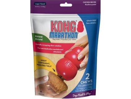 Pamlsek do hraček dřevo Chicken L Kong 2 ks