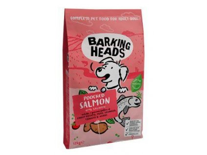 BARKING HEADS Pooched Salmon 12kg  + 12+2kg (Platnost do 31.10.2020)
