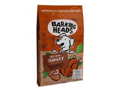 BARKING HEADS Top Dog Turkey 12kg  + 12+2kg (Platnost do 31.10.2020)
