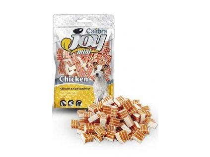 Calibra Joy Dog Mini Chicken & Cod Sandwich 70g