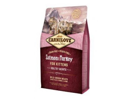 Carnilove Cat Salmon & Turkey for Kittens HG 2kg