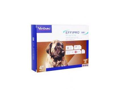 Effipro DUO Dog XL (40-60kg) 402/120 mg, 4x4,02ml  AKCE do 29.6.20