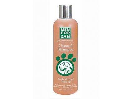Menforsan Ochranný šampon s norkovým olejem 1l