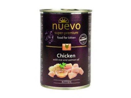 Nuevo Cat konzerva Kitten Chicken 400 g