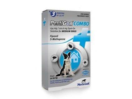 Pestigon Combo 134mg spot-on M střední psi 3x1,34ml