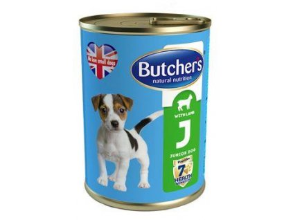 Butcher's Dog Natural&Healthy Junior jehněčí konz.400g