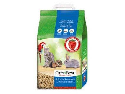 Podestýlka Cats Best Universal jahoda 10l