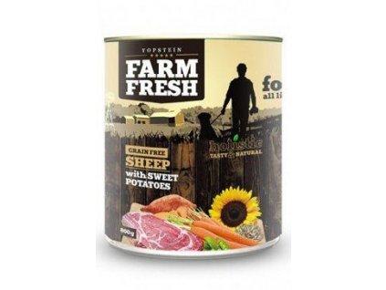 Farm Fresh Dog Sheep with Sweet Potatoes konzerva 400g