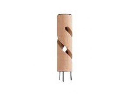 Psí pisoár dřevěný průchozí šroubovice Malý Č.4