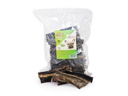 NATURECA pochoutka Hovězí dršťky sušené 15cm 500g