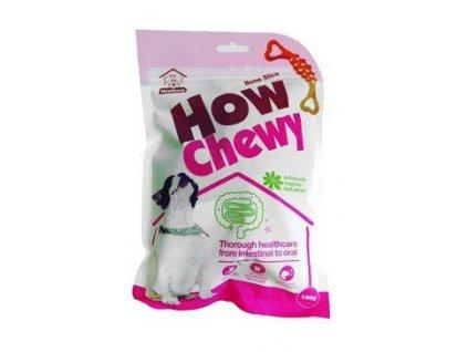 Pochoutka dentální How Chewy Bone Slice 180g