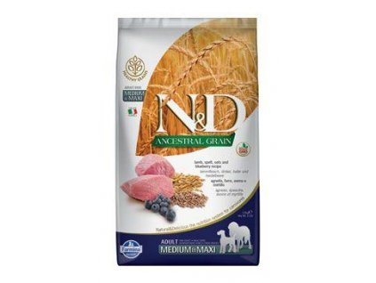 N&D LG DOG Adult M/L Lamb & Blueberry 2,5kg