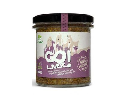 GOliver bylinná pasta pro psy 300g