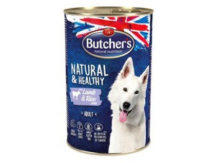 Butcher's Dog Life s jehněčím masem a rýží konz. 1200g