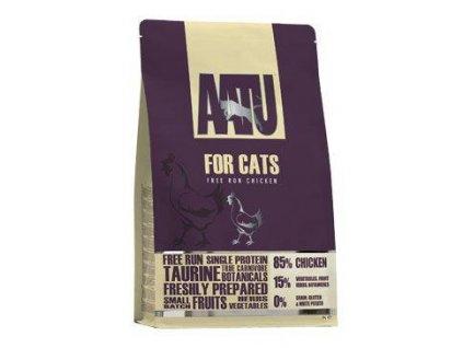 AATU Cat 85/15 Chicken 3kg  + 5x AATU kapsička 85g Gratis (Platnost do 31.10.2020)