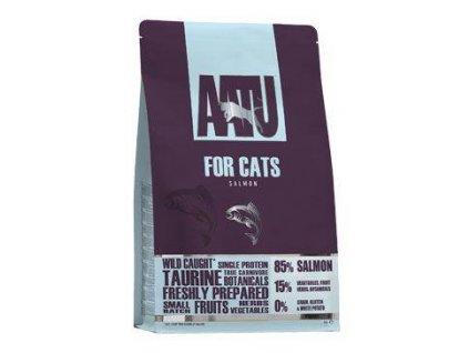 AATU Cat 85/15 Salmon & Herring 3kg  + 5x AATU kapsička 85g Gratis (Platnost do 31.10.2020)