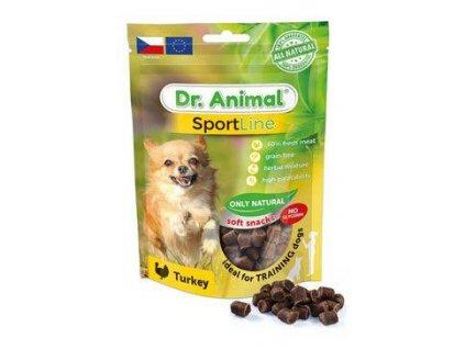 Pochoutka Dr. Animal Sportline krocan 100g