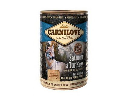Carnilove Wild konz Meat Salmon & Turkey 400g