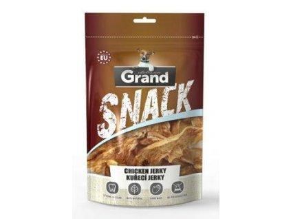 GRAND Suš. Deluxe Kuřecí jerky pochoutka pro psy 100g