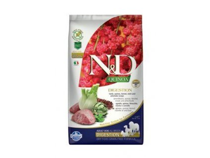 N&D Quinoa DOG Digestion Lamb & Fennel 2,5kg