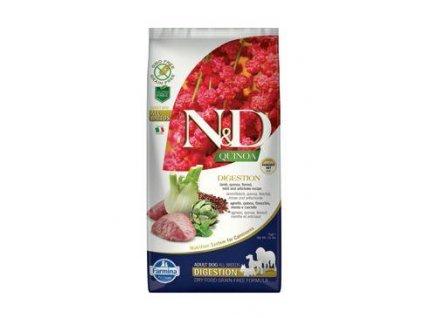 N&D Quinoa DOG Digestion Lamb & Fennel 7kg  + ZÁSOBNÍK NA KRMIVO ZDARMA! (Platnost do 31.10.2020)