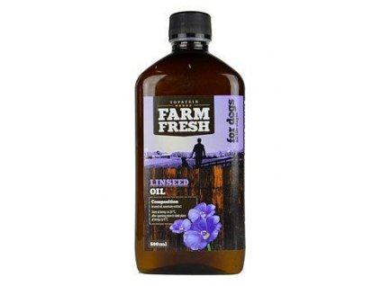 Farm Fresh Lněný olej 500 ml