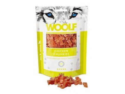 WOOLF pochoutka chicken chunkies 100g