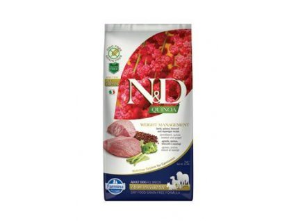 N&D Quinoa DOG Weight Management Lamb & Broccoli 7kg