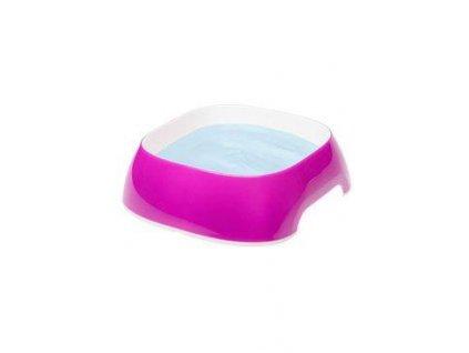 Miska plast GLAM SMALL 0,4l růžovofialová FP