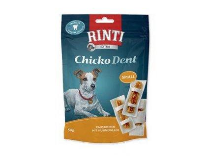 Rinti Dog Chicko Dent Small pochoutka kuře 50g