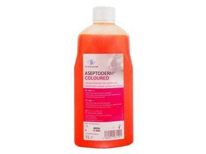 Aseptoderm coloured 1000ml dezinfekce kůže