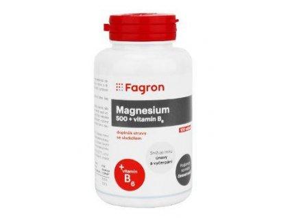 Magnesium 500mg+vit.B6 100tbl Fagron
