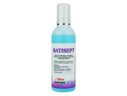 Batisept sol. 200ml MR dezinfekce kůže před vpichy ap