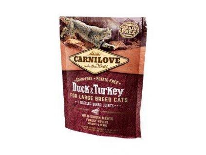 Carnilove Cat LB Duck&Turkey Muscles,Bones,Joints 400g
