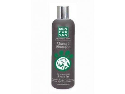 Menforsan Šampon pro zvýr. hnědé barvy pes 300ml