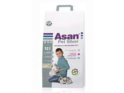 ASAN Pet Silver hlodavce a králíčky 12l
