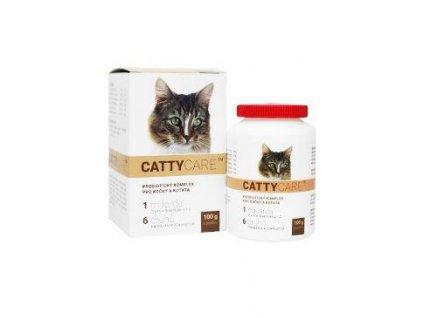 Catty Care Probiotika pro kočky a koťata plv 100g