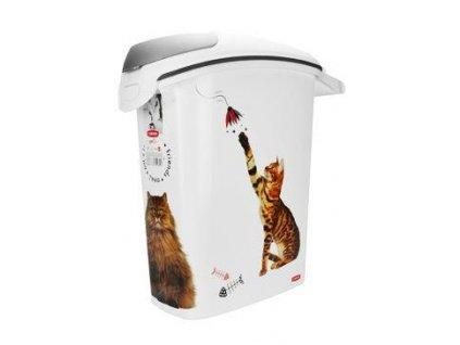Curver kontejner na suché krmivo 23l 10kg kočka